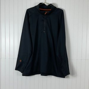 Timberland Fleece Lined 1/4 Zip Pullover Sz 3XL